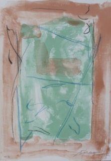 Литография Ràfols Casamada - Composition  19