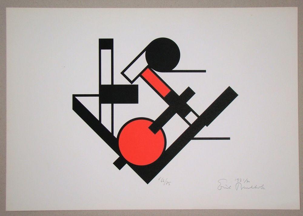 Сериграфия Buchholz - Composition, 1921