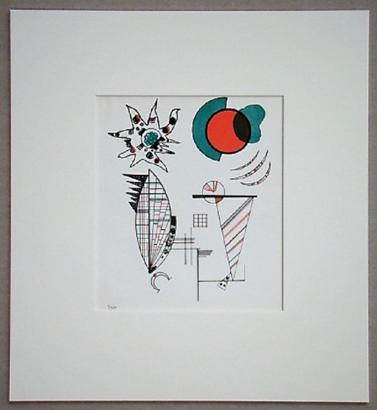 Литография Kandinsky - Composition, 1934