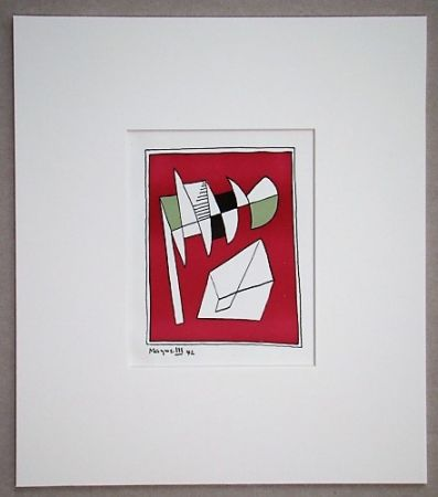 Литография Magnelli - Composition, 1942