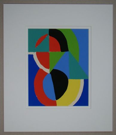 Трафарет Delaunay - Composition, 1955