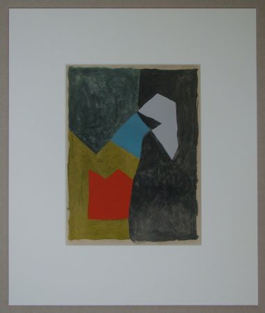 Трафарет Poliakoff - Composition, 1955