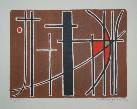 Литография Quentin - Composition, 1956