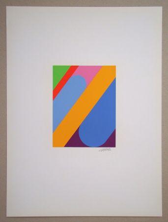 Сериграфия Béöthy Steiner - Composition, 1972