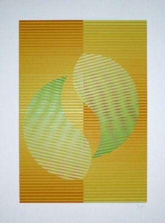 Сериграфия Sempere - Composition 2