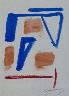 Литография Ràfols Casamada - Composition 20