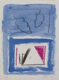 Литография Ràfols Casamada - Composition 21