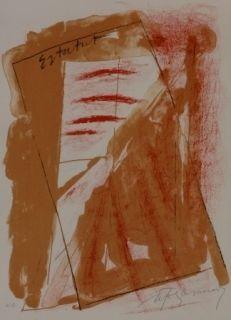 Литография Ràfols Casamada - Composition 22