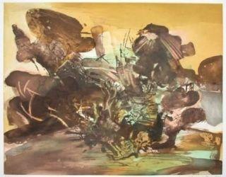 Офорт И Аквитанта Zao - Composition 262