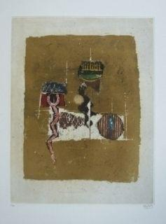 Гравюра Friedlaender - Composition 27
