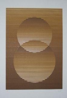 Сериграфия Sempere - Composition 3