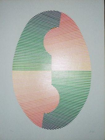 Сериграфия Sempere - Composition 4