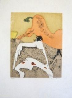 Офорт И Аквитанта Tanning - Composition 7
