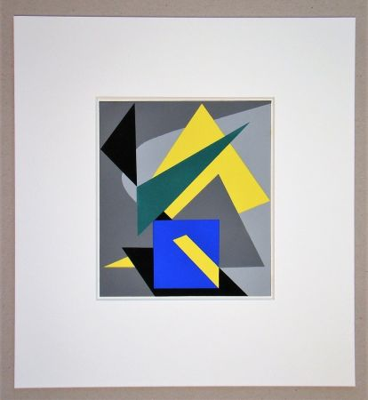 Трафарет Bloc - Composition abstrait