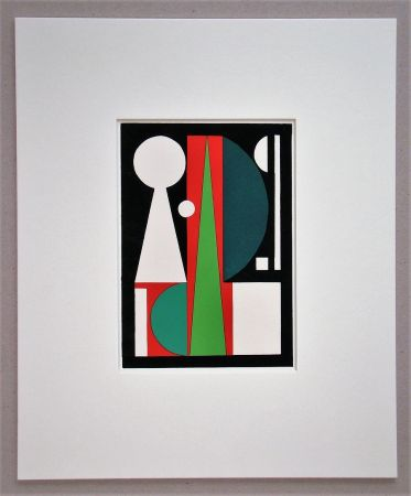 Трафарет Herbin - Composition abstrait