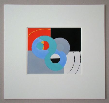 Трафарет Delaunay - Composition abstrait