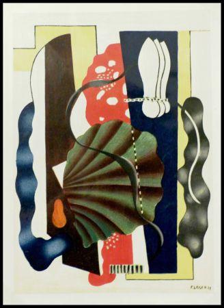 Литография Léger (After) - COMPOSITION AU COQUILLAGE