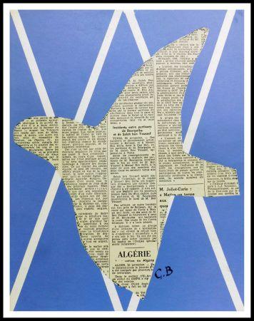 Литография Braque - COMPOSITION AUX OISEAUX