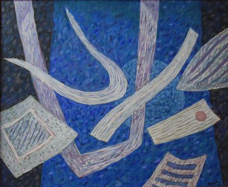 Нет Никаких Технических Goetz - Composition en bleu
