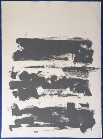 Литография Mitchell - Composition en gris