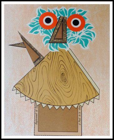 Литография Baj - Composition Figurative