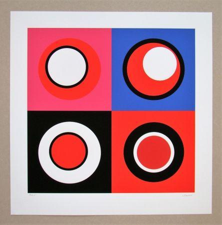 Сериграфия Claisse - Composition géométrique