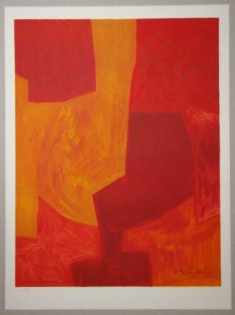 Литография Poliakoff - Composition gouache 1969