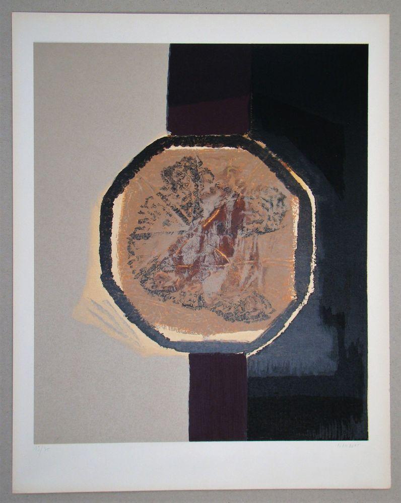 Сериграфия Piaubert - Composition I. - 1964