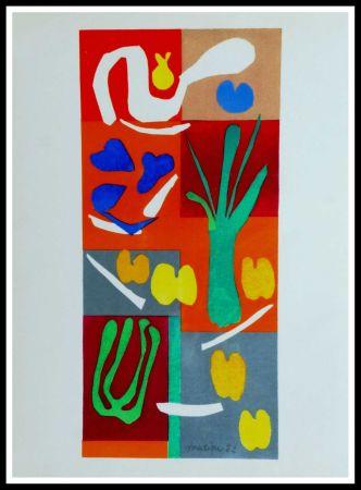 Литография Matisse (After) - COMPOSITION MARINE