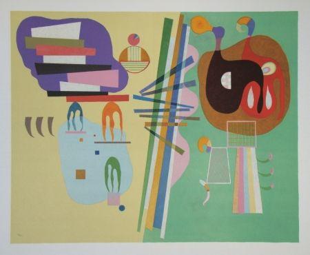 Литография Kandinsky - Composition, période parisienne 1934-1944