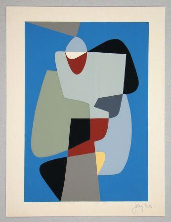 Сериграфия Rets - Composition pour Art Abstrait