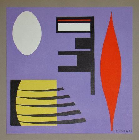 Литография Holley - Composition pour Art Abstrait
