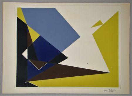 Сериграфия Gilles  - Composition pour Art Abstrait