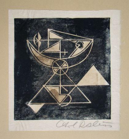 Гравюра На Дереве Rabus - Composition pour Art Abstrait