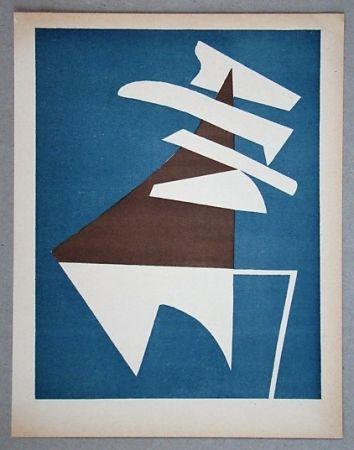 Литография Magnelli - Composition pour XXe Siècle