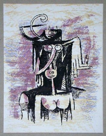Литография Lam - Composition Pour Xxe Siècle