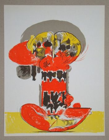 Литография Sutherland - Composition pour XXe Siècle