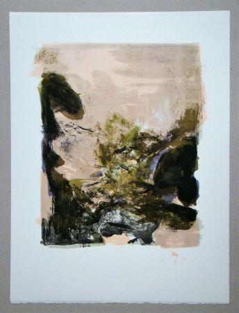 Литография Zao - Composition pour XXe Siècle