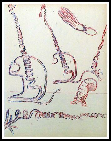 Литография Ernst - Composition surréaliste
