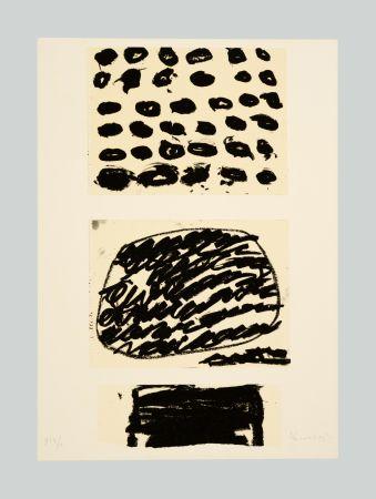 Литография Kounellis - Composizione