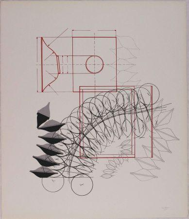 Литография Bonalumi - Composizione