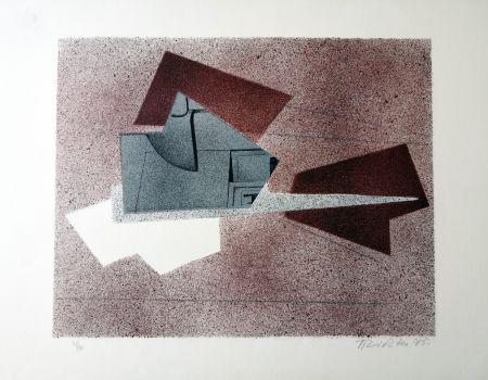 Литография Richter - Composizione