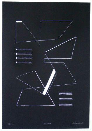 Сериграфия Badiali - Composizione (tavola 10)