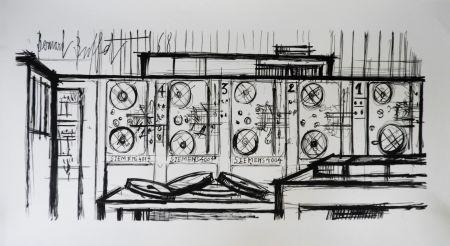 Литография Buffet - Computer, Siemens,