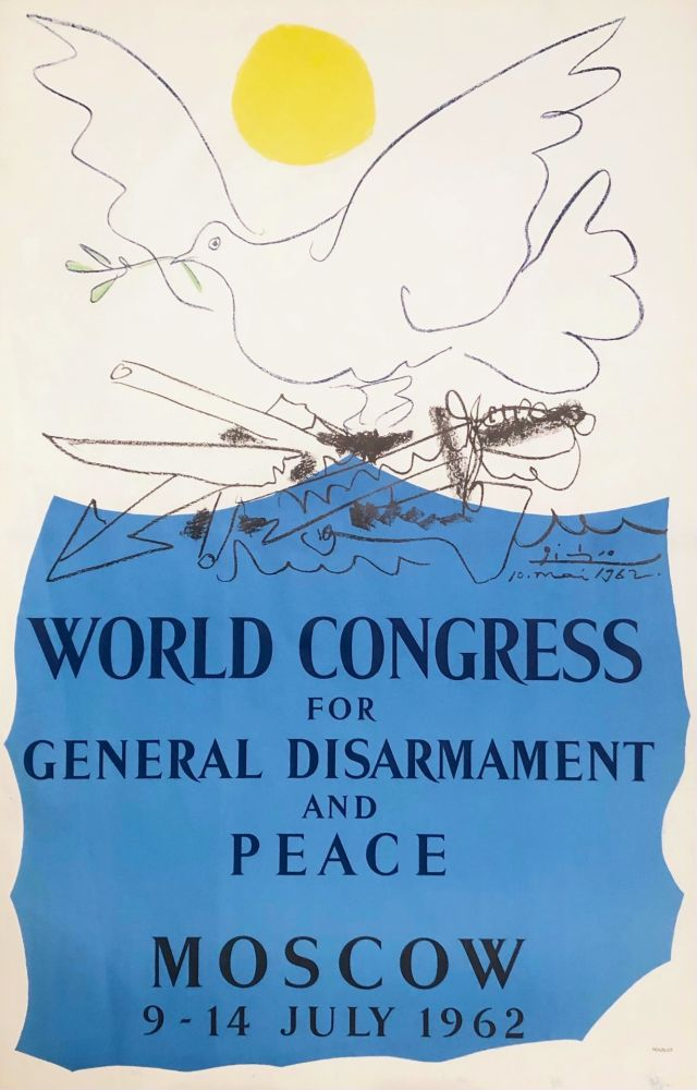 Литография Picasso - Congrès pour la Paix