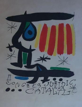 Литография Miró - Congreso Juridico Catalan