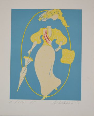 Литография Indiana - Constance Fletcher - Mother of us all portfolio