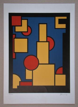 Сериграфия Koning - Constructieve Compositie