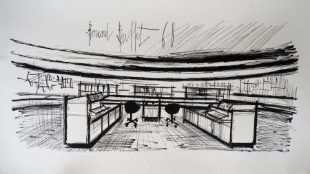 Литография Buffet - Control Room, Siemens,