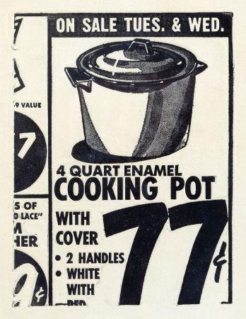 Офорт Warhol - Cooking Pot 1